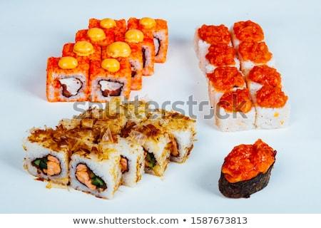 Sushi comida japonesa restaurante peixe descobrir Foto stock © dmitriisimakov