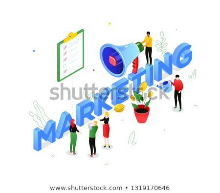 Creatives working in team checking colors for advertising project Stock photo © Kzenon