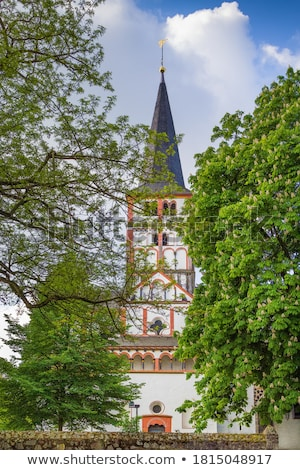 católico · igreja · agora · ortodoxo · edifício · pôr · do · sol - foto stock © borisb17