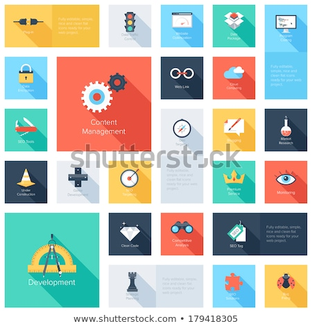 бизнеса Consulting развивающийся вектора люди связи Сток-фото © robuart