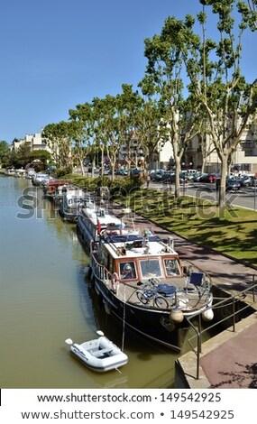Canal de la Robine, Narbonne, France Stock photo © borisb17