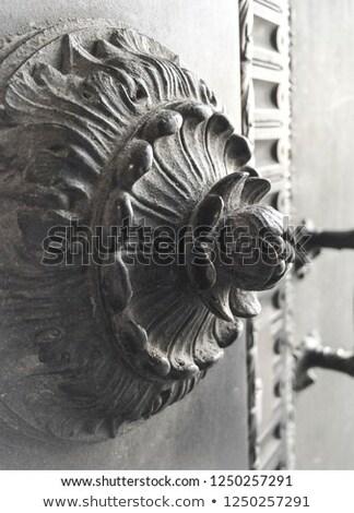 fontein · kasteel · milaan · Italië · gebouw · stad - stockfoto © witthaya