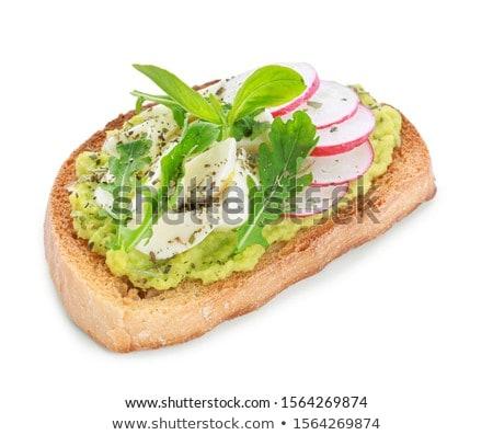 bread and arugula Stock photo © M-studio