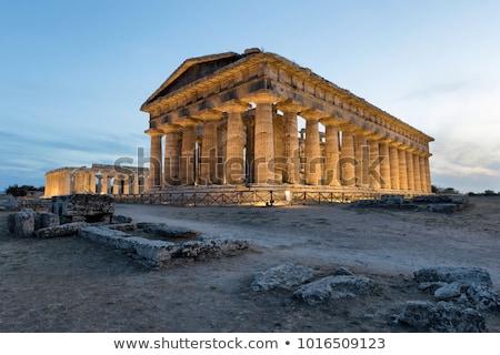 Temple of Hera Stock photo © igabriela