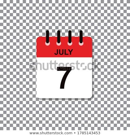 7th July stock photo © Oakozhan