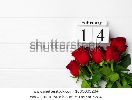 Cubes 14th February Stock photo © Oakozhan