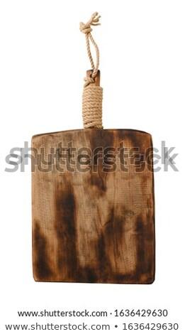 лоток квадратный белый окрашенный Сток-фото © Digifoodstock