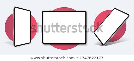 Générique comprimé modernes isolé blanche Photo stock © albund