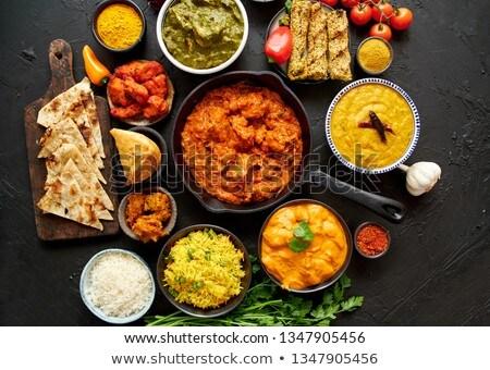 indiai · sajt · túró · főtt · különleges · fűszer - stock fotó © dash