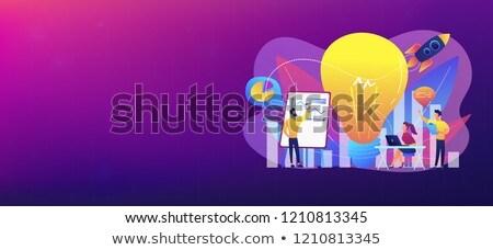 Vision statement concept banner header. Stock photo © RAStudio