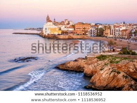 Sitges near Barcelona, Costa Dorada in Spain Stock photo © LianeM