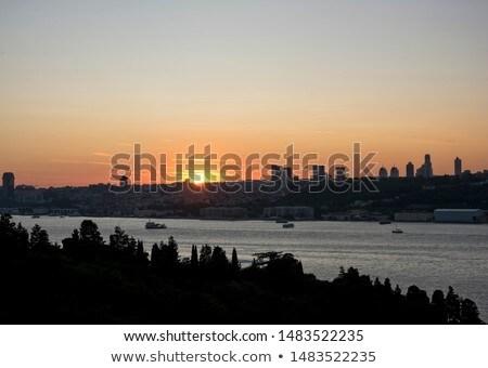 ボート イスタンブール トルコ 表示 都市 アジア ストックフォト © boggy