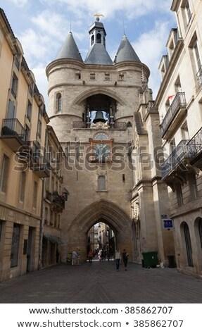 鐘 ボルドー フランス ゲート 市 ストックフォト © borisb17