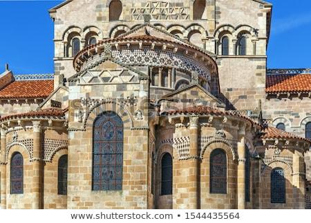 修道院 教会 フランス ビルド インテリア 都市 ストックフォト © borisb17