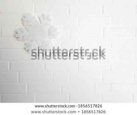レンガ 壁 デザイン 金属 白 パターン ストックフォト © jadthree