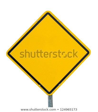 worker with blank road sign stock photo © photography33