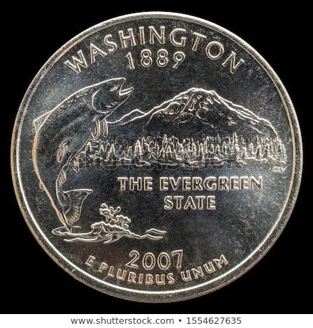 US quarter dollar coins Stock photo © CaptureLight
