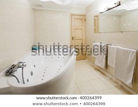 contemporary bathtub with hydromassage Stock photo © Mikko