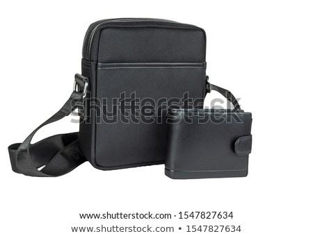 Men's stylish small handbag Stock photo © shutswis
