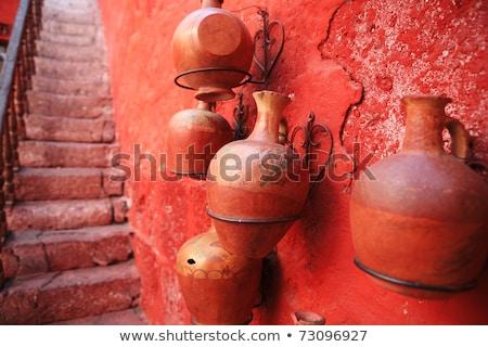 サンタクロース · 修道院 · ペルー · 重要 · 宗教 · ウィンドウ - ストックフォト © meinzahn