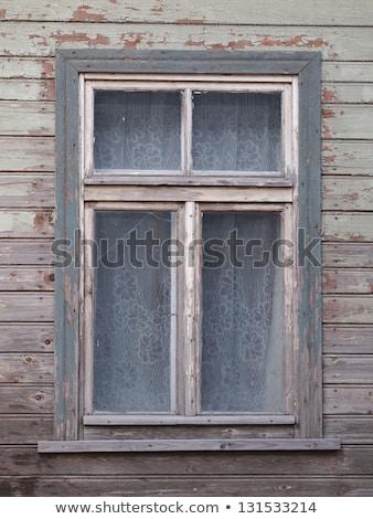 Szczegół starych grunge migawka szary tle Zdjęcia stock © meinzahn