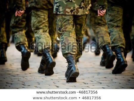 Photo stock: Soldats · militaire · uniforme · armée · formation