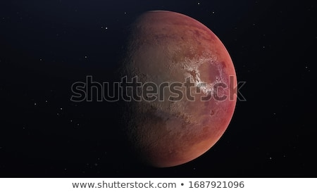red planet and space Stock photo © romvo