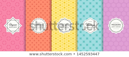 Pequeno abstrato formas mínimo padrão textura Foto stock © SArts