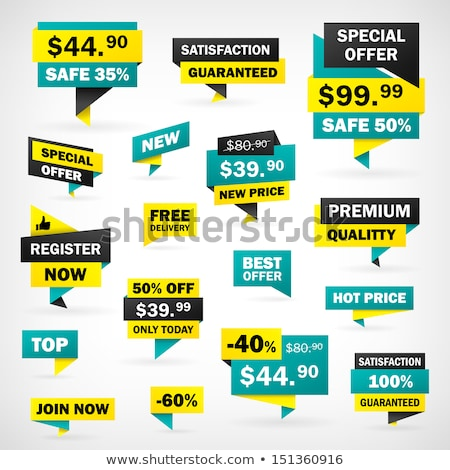 Special Offer Best Choice Set Vector Illustration Stock photo © robuart