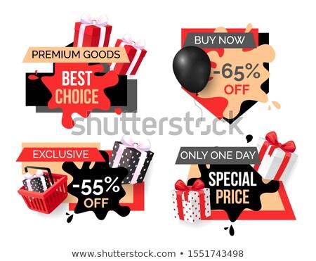 Exclusivo preço venda por cento Foto stock © robuart