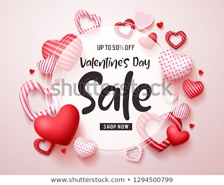 valentines day deals and offer decorative banner design Stock photo © SArts