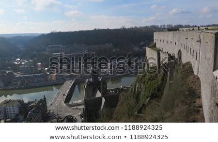 View of picturesque Dinant city. Belgium Stock photo © dmitry_rukhlenko