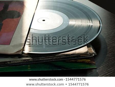 LPs and covers Stock photo © deyangeorgiev