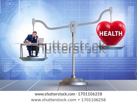 businessman off balance stock photo © photography33