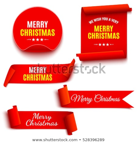 Holiday Ribbon (vector) Stock photo © UPimages