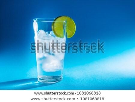 Friss hideg frissítő ital ásványvíz üdítő Stock fotó © juniart