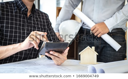 Architect and foreman Stock photo © photography33