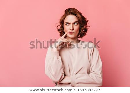 Pensive girl  stock photo © pressmaster