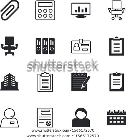 Telemarketing Sale Onboarding Elements Icons Set Vector Stock photo © pikepicture