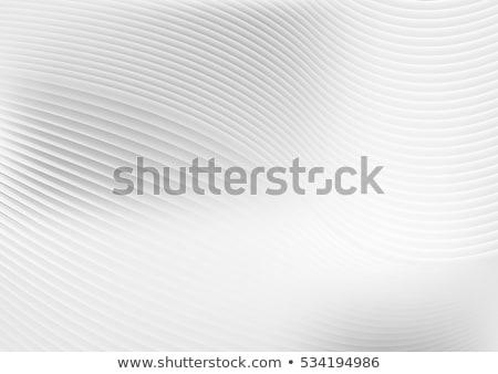 白 グレー 波状の 行 波 ストックフォト © SArts