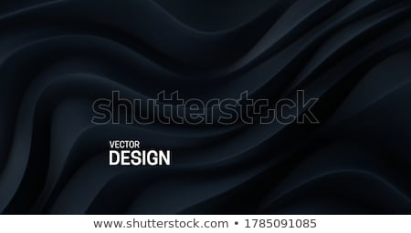 abstract wavy papercut shapes background curvy design Stock photo © SArts