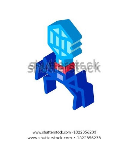 Disease Virus Pathogen Element isometric icon vector illustration Stock photo © pikepicture