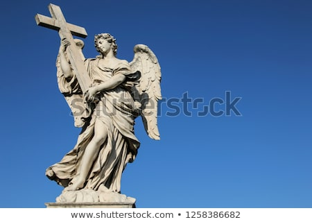 statue of a saint stock photo © lithian