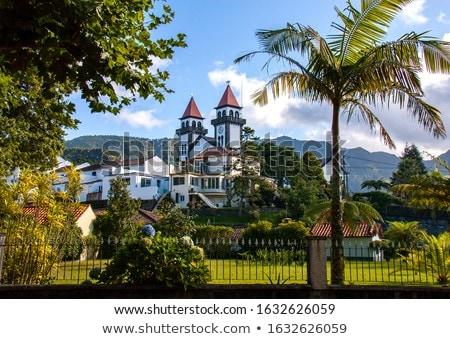ストックフォト: 教会 · 島 · 列島 · グループ · 島々 · 北