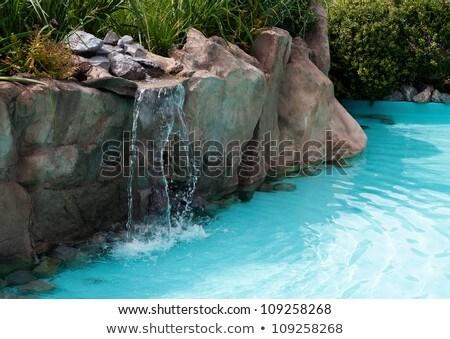 waterfall on the floriade   Stock photo © compuinfoto
