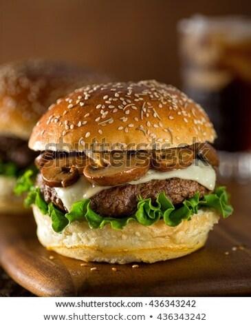 Sezam żywności drewna świeże zdrowych Zdjęcia stock © wavebreak_media