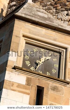 Relógio prefeitura mercado praça gótico estilo Foto stock © aladin66