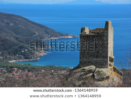 Elba island - San Giovanni Tower Stock photo © Antonio-S