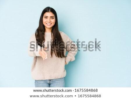 セクシー · スリム · ブルネット · ポーズ · 黄色 · ドレス - ストックフォト © acidgrey