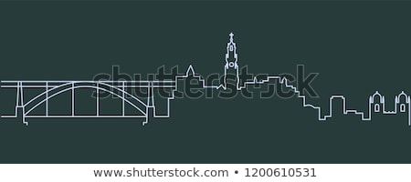 Porto skyline, Portugal Stock photo © joyr